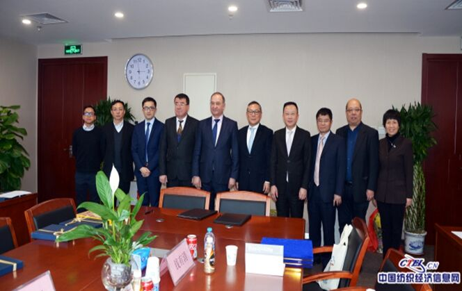 Uzbekistan Textile Industry Representatives and China National Textile And Apparel Council Hold Bilateral Talks in Beijing